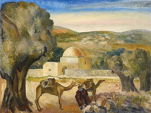 Adolphe Aizik Feder | Rachel's Tomb, 1920's