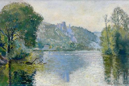 River landscape, 1950