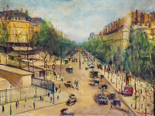 Lucien Adrion | Les grands boulevards