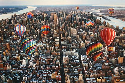 New York view, 2017
