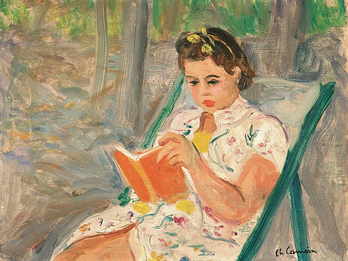 Charles Camoin | Girl reading