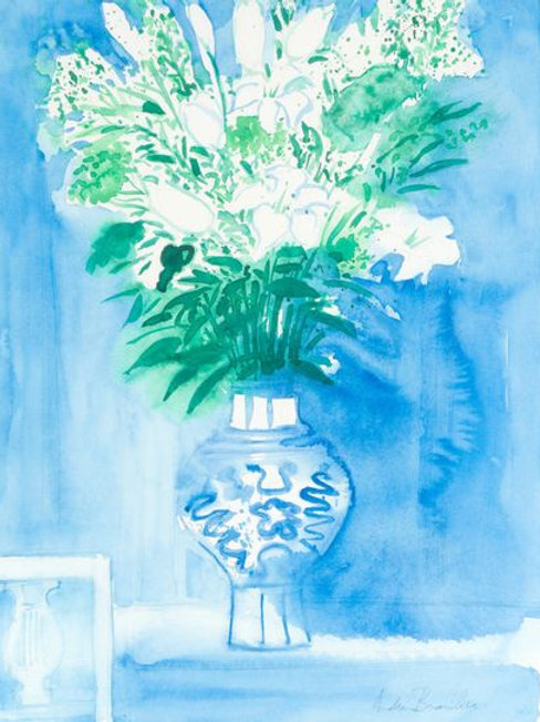 Andre Brasilier Bouquet of flowers