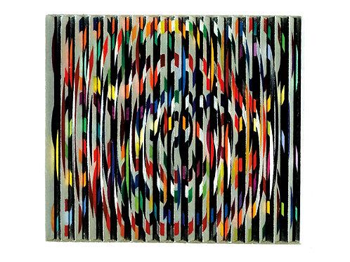 Yaacov Agam | Spiral oval, 1966