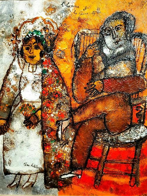 Theo Tobiasse L'homme et la jeune fille