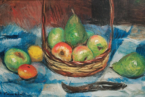 Charles Camoin | Still life with apples and pears, 1923