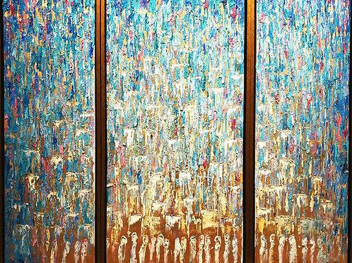 Sasi Jerusalem triptych