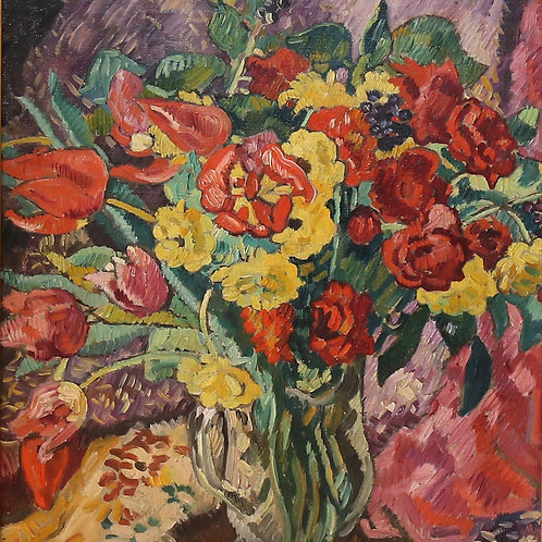 Tulips and buttercups, c.1928