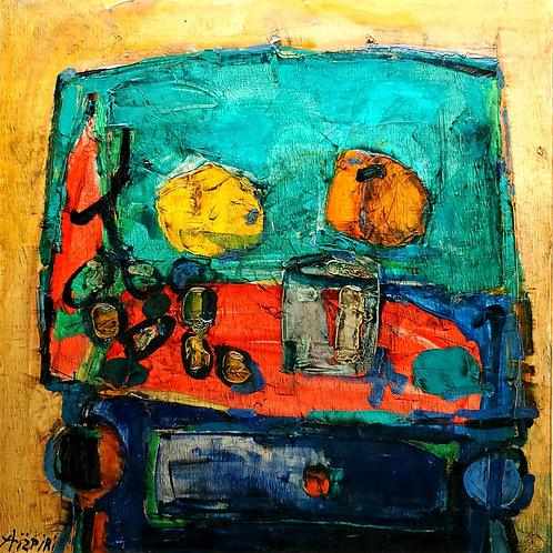 Paul Aizpiri Still life