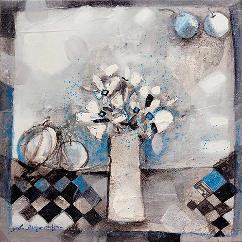Yoel Benharrouche Flowers of the day, a spring day