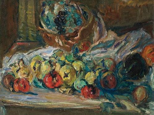 Michel Kikoine Nature morte aux fruits, 1939-40