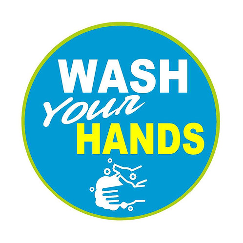 Wash Your Hands Decal