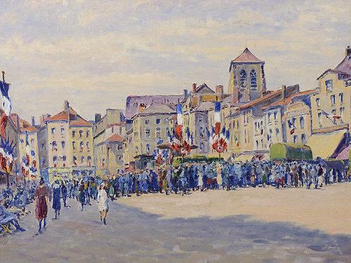 Cariot   Fête du 14 juillet 1920 à Châlons-sur-Marne, 1920