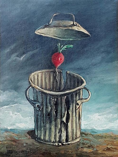Yosl Bergner   Return to the radish, 1970