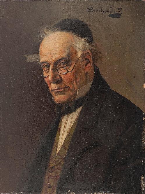 Alois Heinrich Priechenfried | Portrait of a Jew