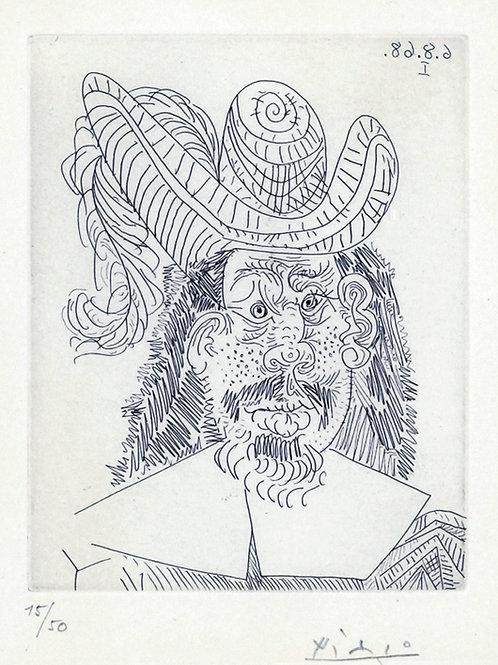 Portrait de Mousquetaire vieillissant