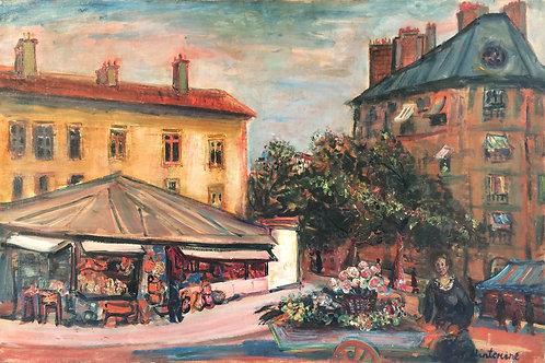 Paris. Street scene