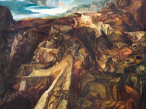 Samuel Bak | Labyrinthe II, 1964-65