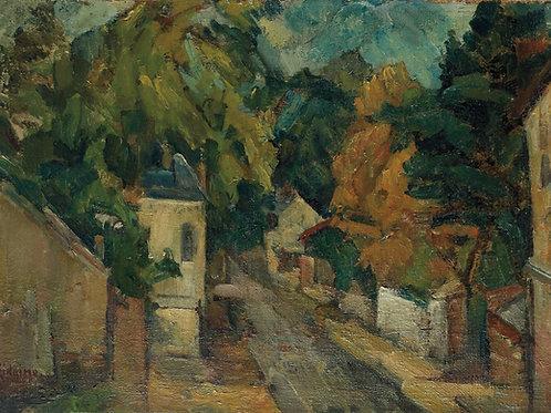 Michel Kikoine Paysage de Plombieres, circa 1918-1920
