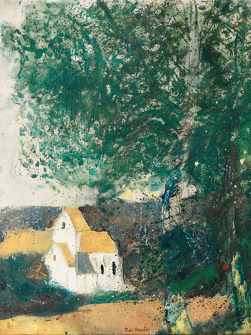 Andre Brasilier   Landscape with houses