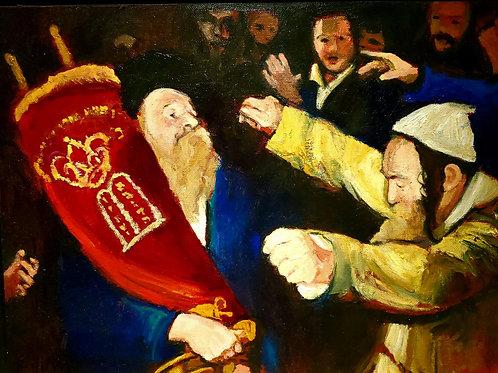 Zvi Malnovitzer Dancing Rabbi