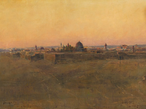 Bertram Priestman   Jerusalem from the Mount of Olives, 1899