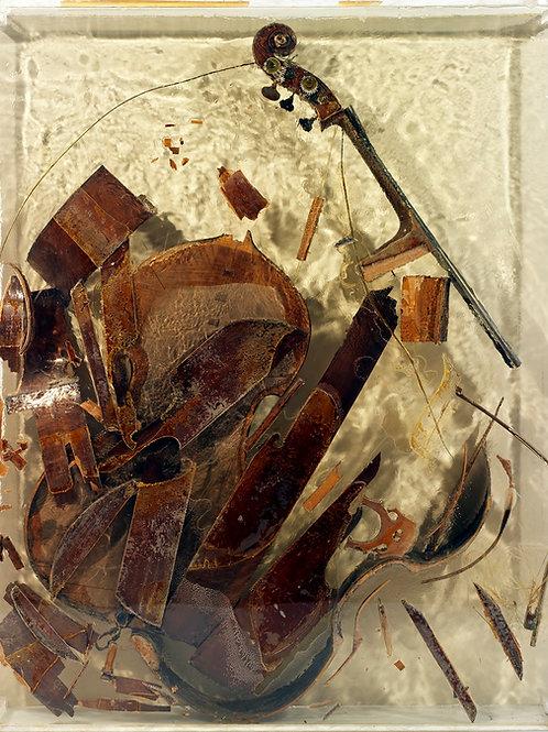 Arman | Colore de contrebasse, 1972 (unique)