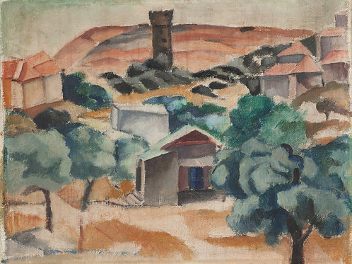 Menachem Shemi  Landscape, 1920's