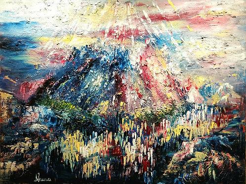 Ahuva Manies  | The Vision of Mount Sinai