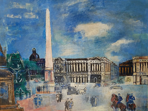 Jean Dufy Paris Scene