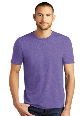 District Brand Soft TShirt in Purple Unisex