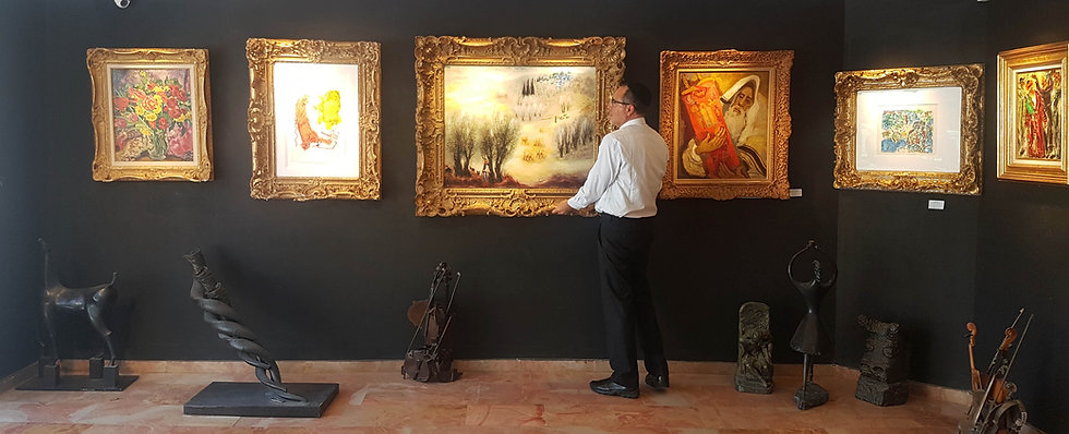 Lucien Krief Art Gallery in Jerusalem