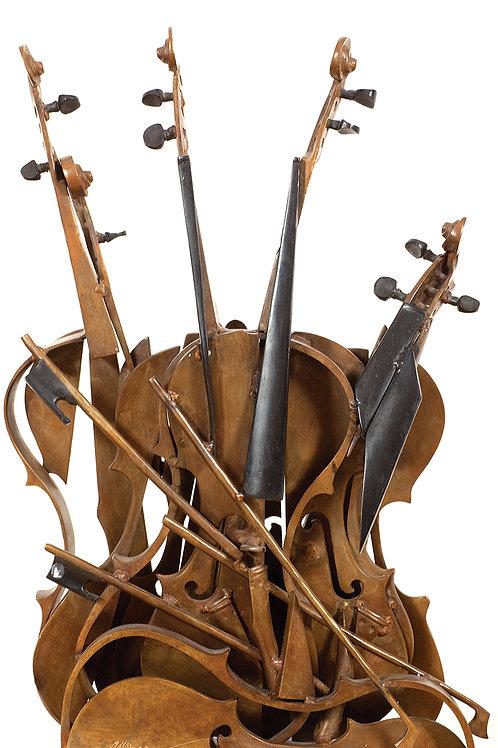 Arman | Violins decoupes, 1981