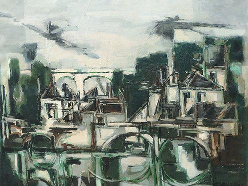 Claude Venard Urban landscape