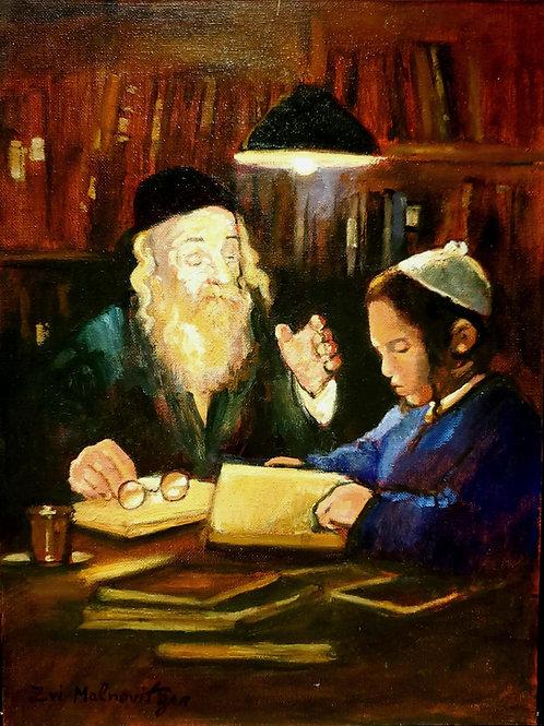 Zvi Malnovitzer Rabbi and the pupil