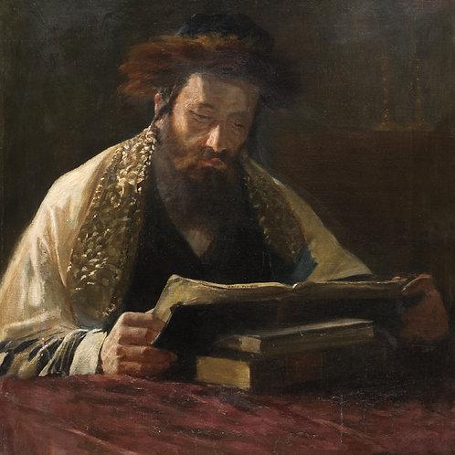 Lazar Krestin   Portrait of Rabbi