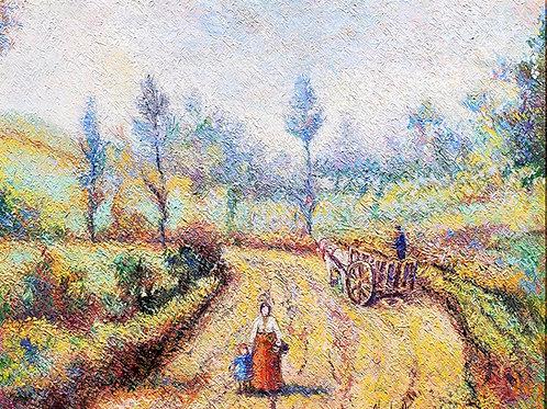 Hugues Claude Pissarro On the road to Creutzwald