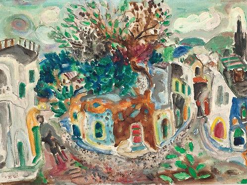 Menachem Shemi  Safed, 1950