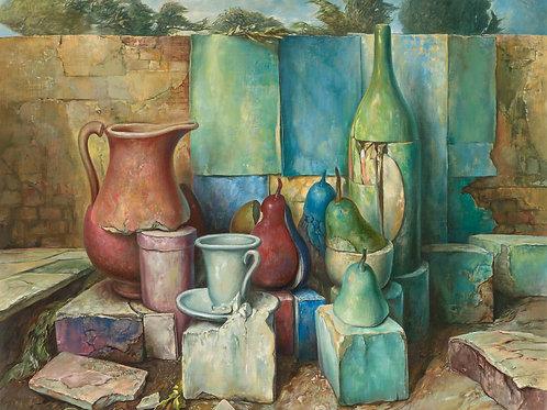 Samuel Bak Still life, 1996