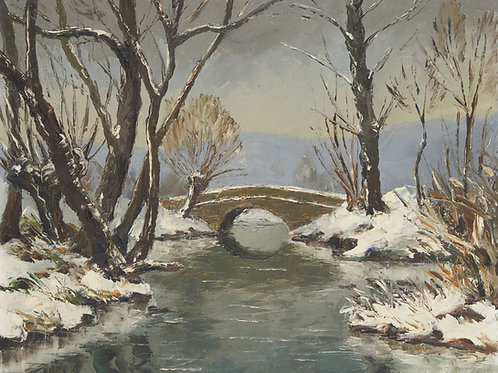 Old bridge over the Epte