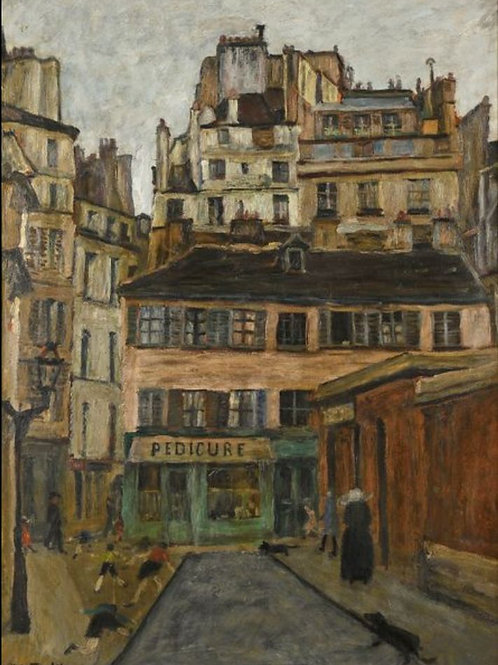 Elisee Maclet   Une rue du vieux Paris