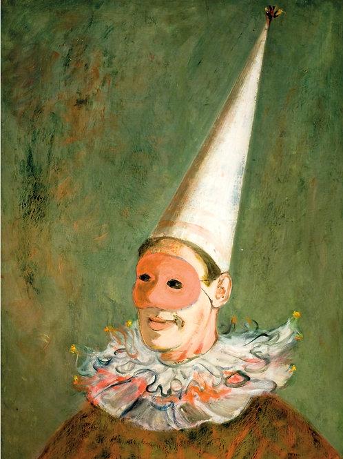 Autoportrait masque, ca. 1929