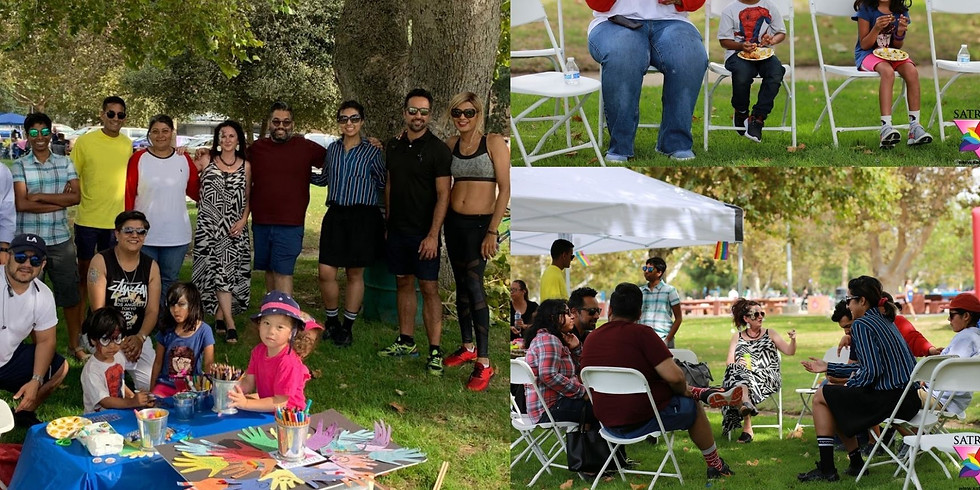 Picnic in the Park - Our first In-person Event of 2021