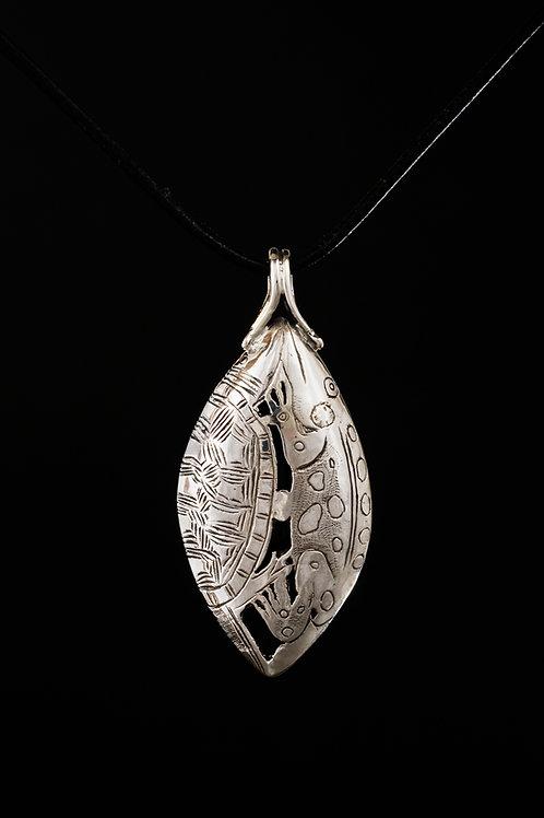Silver Turtle Pendant