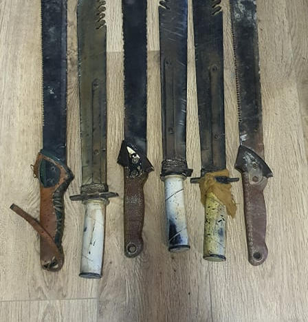 Rentals - Machete/Short Swords -Post Apocolyptic style