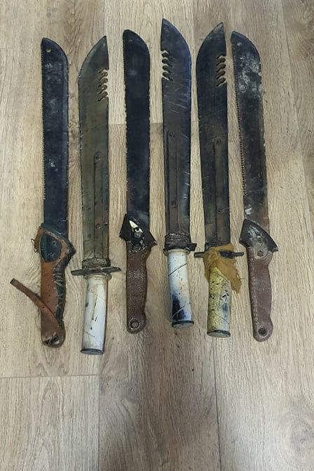 Rentals - Machete/Short Swords -Post Apocolyptic style