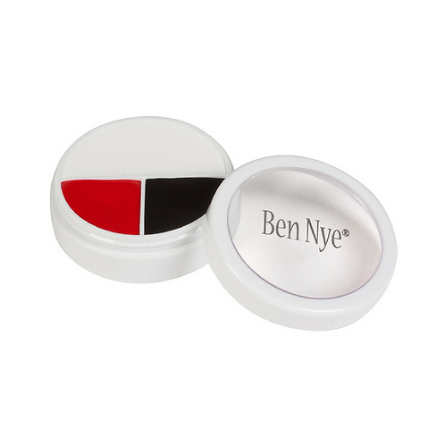 Ben Nye - Character MakeUp Wheel - Red, White & Black