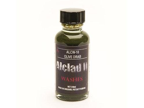 Alclad Hogwash Washes -Olive Drab