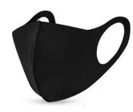 Reuseable fabric facemask (Fashion face mask one ply)