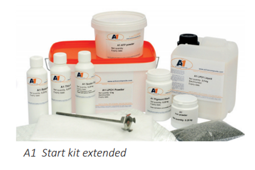 Acrylic One / A1 Extended Starter Kit