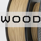 Wood PLA Filament (1.75mm) - Polyprops